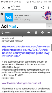 a pg 3 email poloni levasseur screenshot
